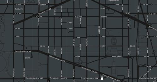 Map of 700 L'Enfant Washington, DC 20024